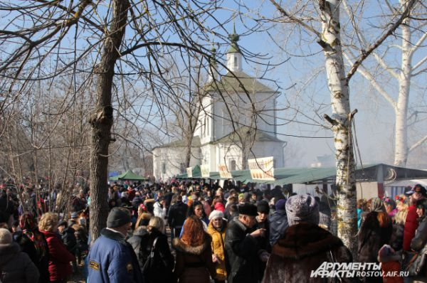 В станице Старочеркасской прошли основные праздничные мероприятия, собравшие тысячи людей.
