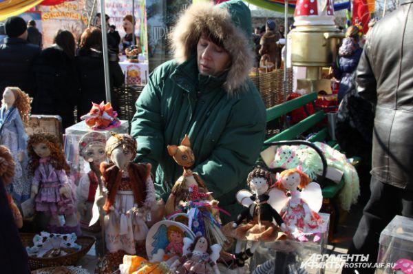 Куклы, изготовленные собственными руками.