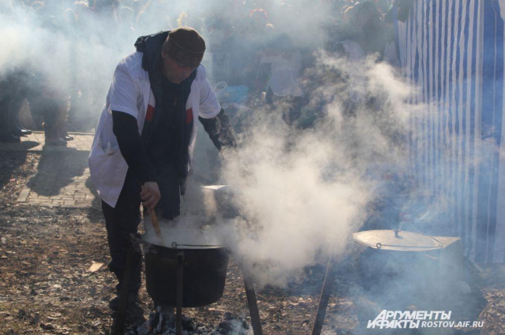 Без донской ухи не обходится ни один народный праздник в Ростовской области.