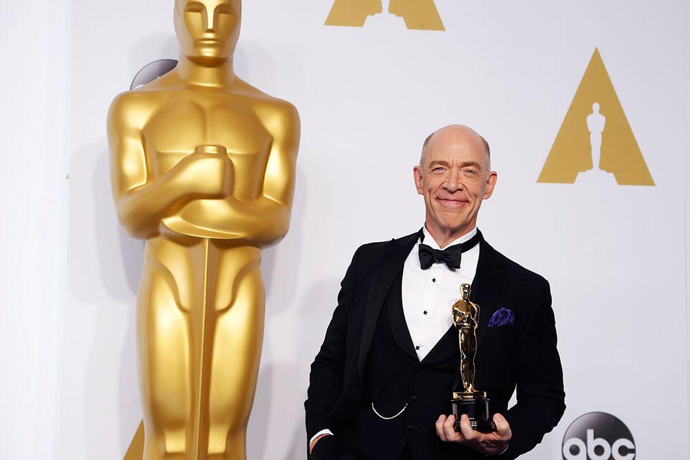 Дж.К. Симмонс получил «Оскар» в номинации «Лучшая мужская роль второго плана» («Одержимость»).