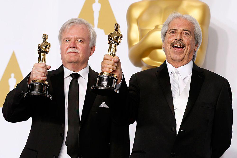 Баб Асман и Алан Роберт Мюррей стали лучшими в номинации «Лучший монтаж звука» («Американский снайпер»).