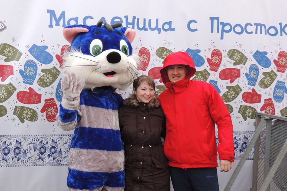 Масленица с котом Матроскиным.
