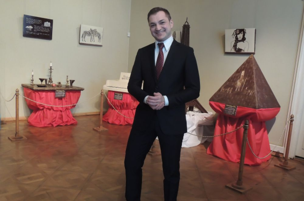 Шоколатье Николай Попов.