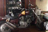 Украденный мотоцикл.