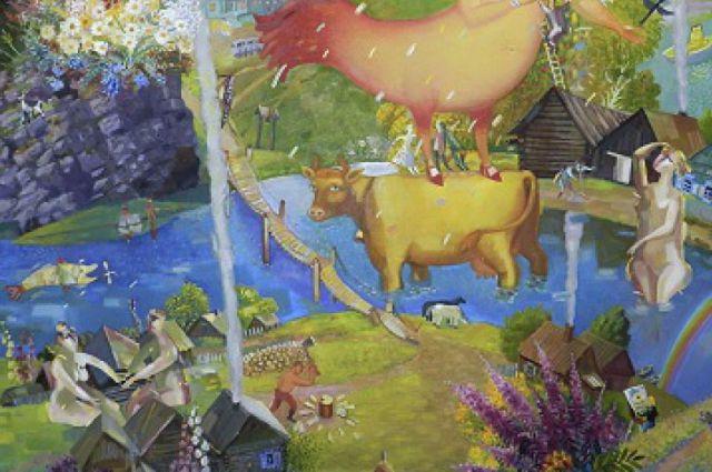 Екатеринбургу подарят уникальную картину авторства нескольких художников