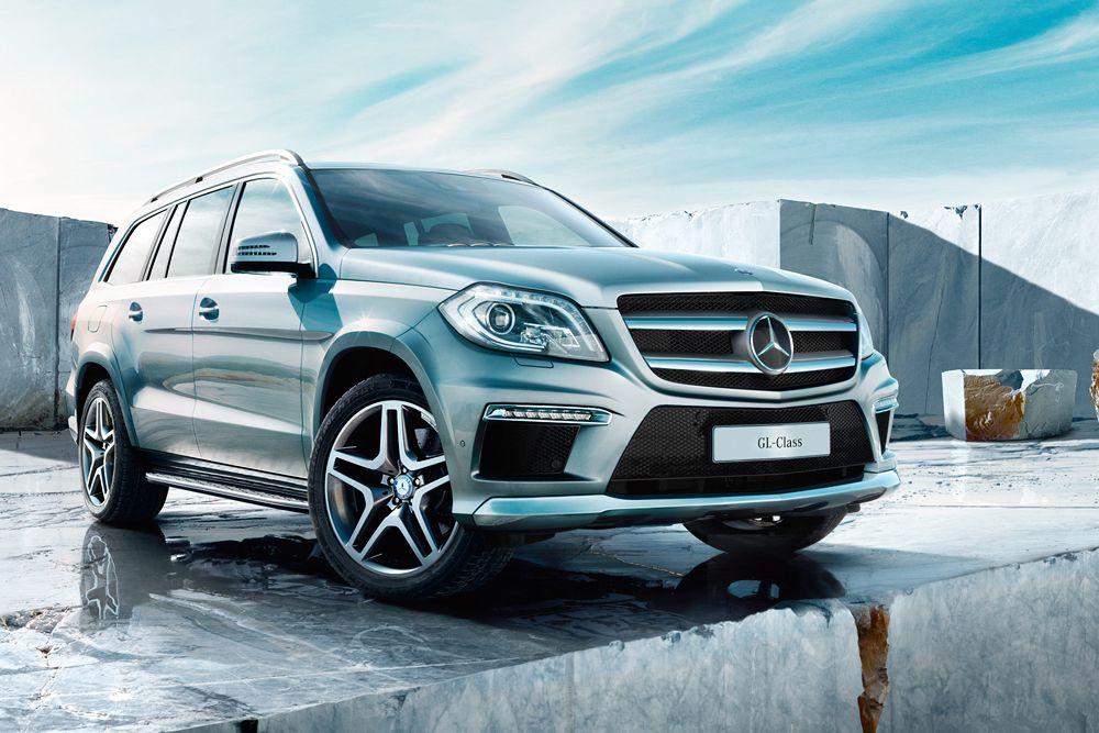 Надежен и безопасен Mercedes-Benz GL.