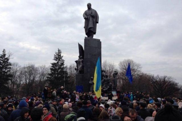 Вече в Харькове
