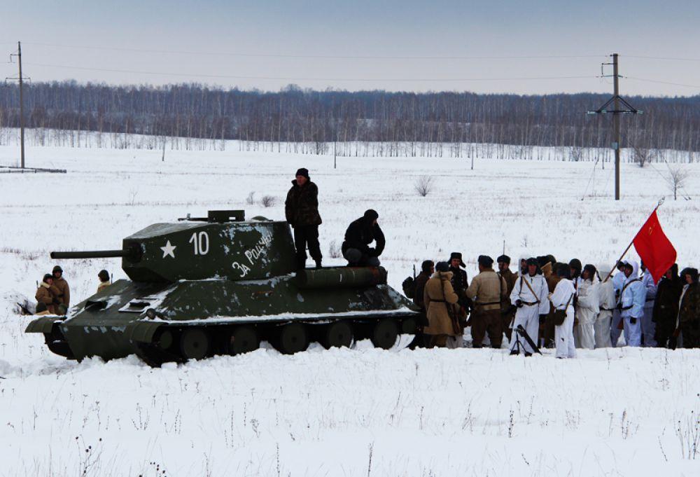 В наступлении участвовали даже танки