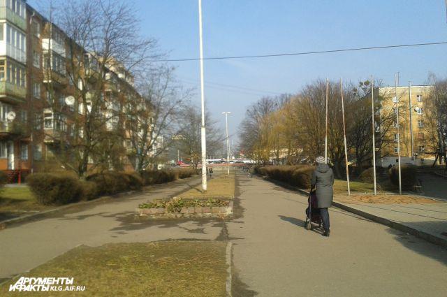 Архитекторы считают, что по этой улице ходят не так уж много калининградцев.