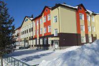 Школа в селе  Верх-Катунское.