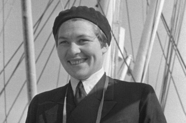 Первая женщина-капитан дальнего плавания Анна Ивановна Щетинина.