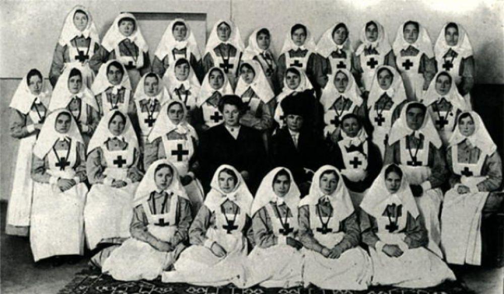 Сестры милосердия. 1914 год