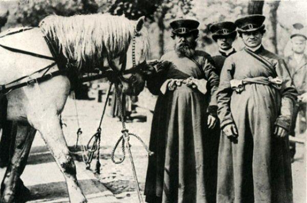 Извозчики. 1902 год