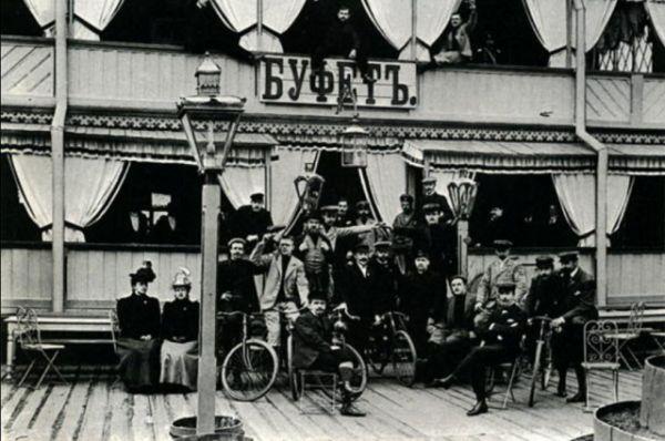 Общество велосипедистов. 1901 год