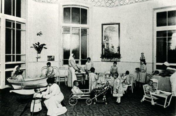 Детская клиника. 1913 год