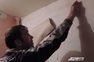 В квартирах обои сходят со стен, а ведь жильцы делали ремонт осенью.
