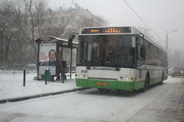 Схема движения автобуса № 125