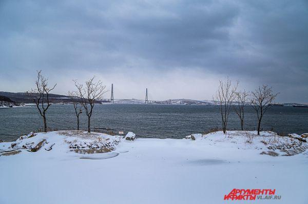 Мост на Русский остров.