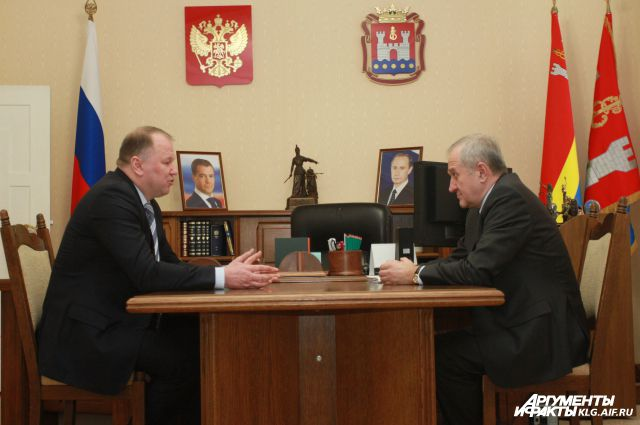 Николай Цуканов и Владимир Булавин.