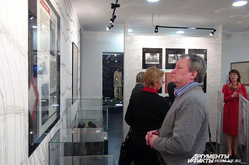 Директор «Пермкино» Павел Печенкин – один из гостей музея.