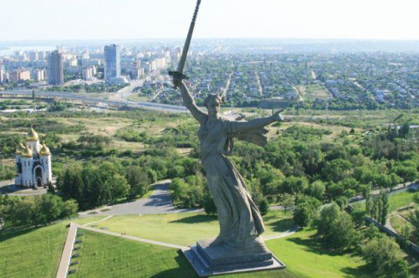 «Родина-мать зовет», Волгоград, Россия.