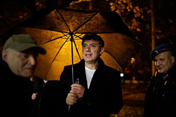 10 декабря 2011 года Немцов принял участие в массовом оппозиционном митинге, участники которого в разных городах России выступили против фальсификаций парламентских выборов 4 декабря 2011 года. Борис занимался подготовкой и следующего митинга, который должен был пройти 24 декабря 2011 года.