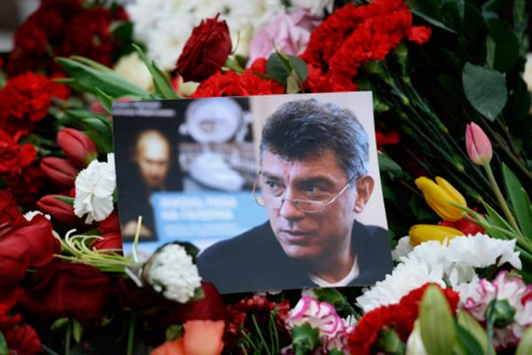 Прощание с Борисом Немцовым проходит в Москве