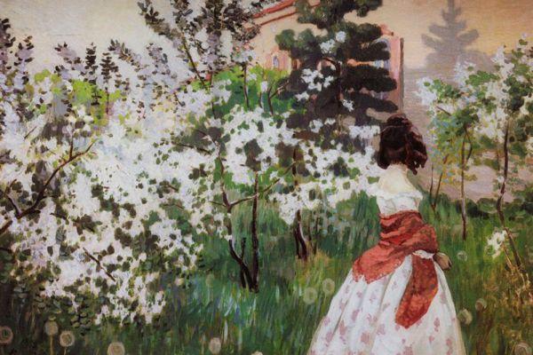 Виктор Борисов-Мусатов. «Весна». 1898-1901 годы.