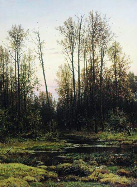 Иван Шишкин. «Лес весной». 1884 год.