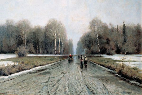 Иван Ендогуров. «Ранняя весна». 1885 год.