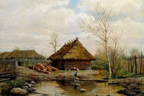 Павел Брюллов. «Весна». 1875 год.