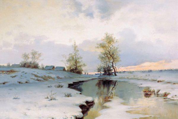 Иван Ендогуров. «Начало весны». 1890-е годы.