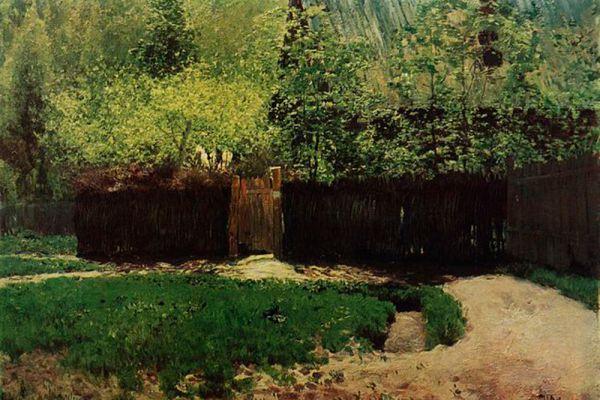 Исаак Левитан. «Первая зелень. Май». 1888 год.