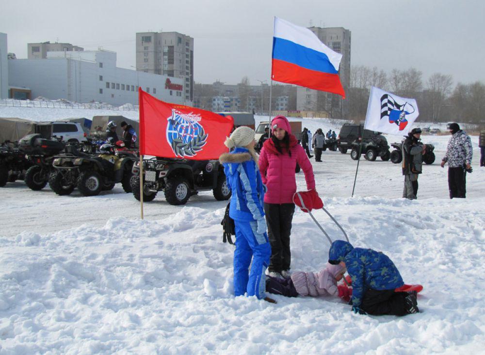 Наши дети мороза не боятся