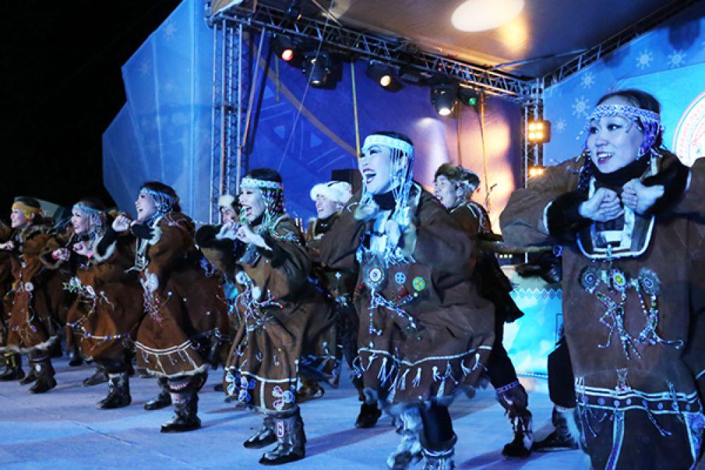 Камчатская гордость - национальный ансамбль «Мэнго».