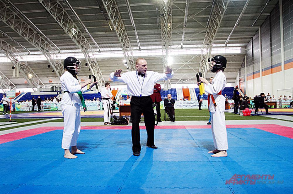 В турнире было задействовано более ста судей международной и республиканской категории. Главным судьей на соревнованиях выступил судья региональной категории Алексей Филиппов (4 дан каратэ сито-рю).