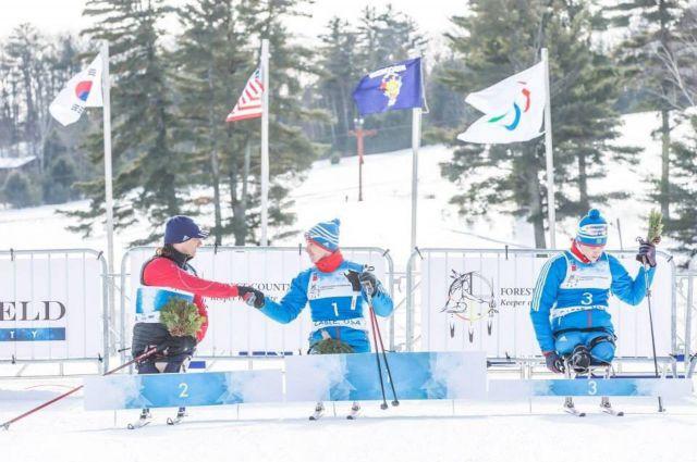 Алексей Быченок (на фото он под №1) на чемпионате мира превзошёл свои паралимпийские достижения.