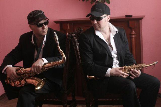 Московский дуэт саксофонистов «Bril Brothers».