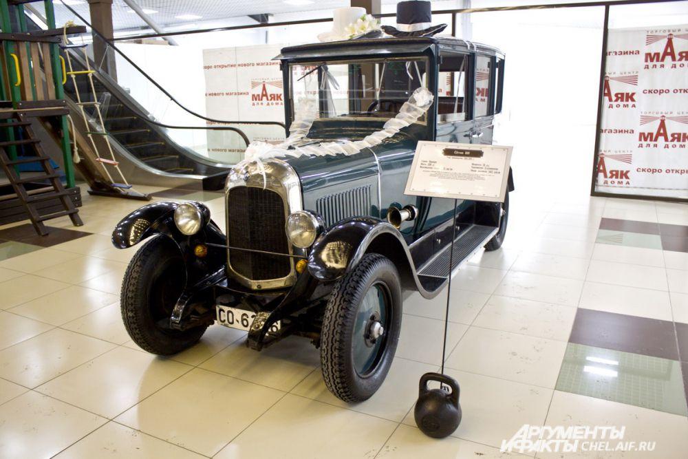 Citroen B10. Выпускался во Франции, 1924 - 1925 гг. Масса 1200 кг Максимальная скорость 70 км/ч Мощность 20 л.с. B10 стал первым автомобилем в Европе с цельнометалическим кузовом.