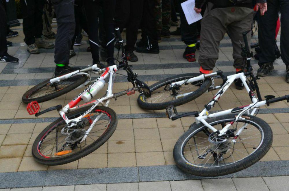 Для краснодарцев это был первый после зимы заезд на велосипедах.