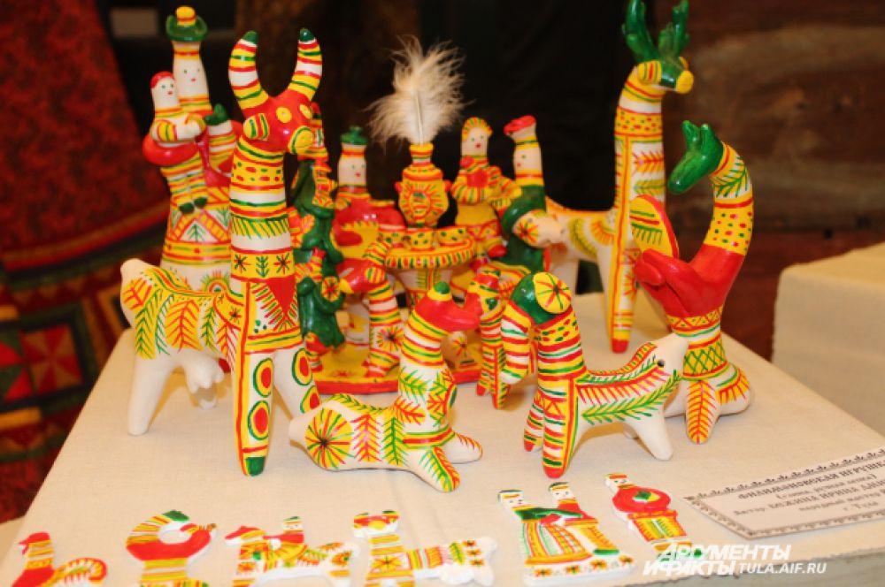 Знаменитая филимоновская игрушка узнаваема повсюду