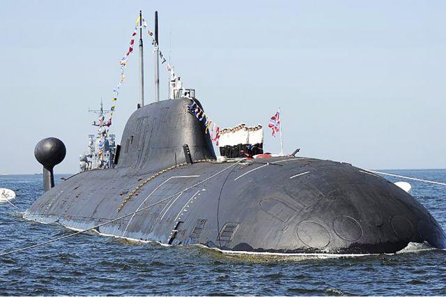 Атомные подводные лодки - символ Вилючинска