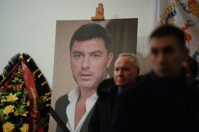 Церемония прощания с Борисом Немцовым