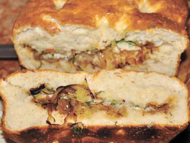 Пирог из палтуса рецепт