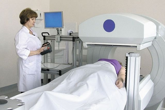 В 83-й больнице Москвы установлен гамма-томограф российского производства ЭФАТОМ. Фото предоставлено Росатомом.