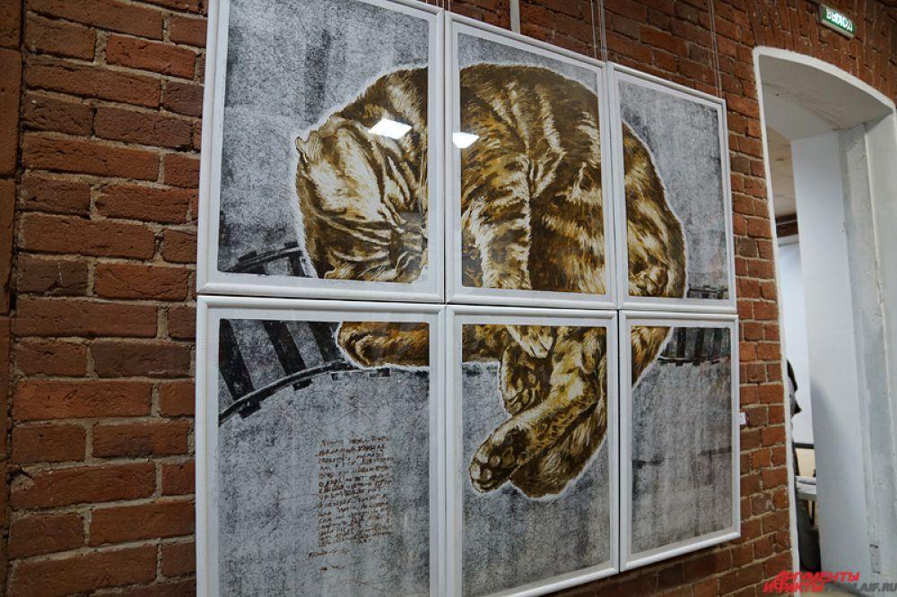 На экспозиции представлено порядка 50 авторских работ.