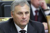 Губернатор Сахалинской области Александр Хорошавин на заседании правительства РФ.