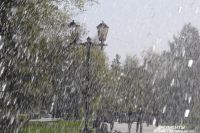 Весна в Омске.
