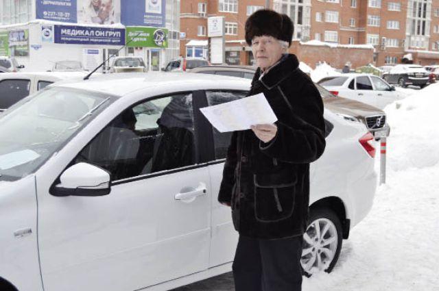 Виталий Пьянков остановил свой выбор на LADA Granta лифтбек.