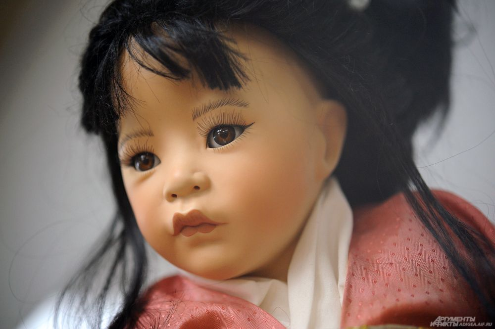 Кукла из Японии. Вторая половина XX в.